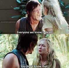 Loved this scene between Daryl and Beth.