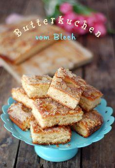 Kessy's Pink Sugar: Butter Zuckerkuchen nach Landfrauenart