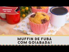 Receita: Muffin de Fubá com Goiabada | Comidas e Bebidas - TudoPorEmail
