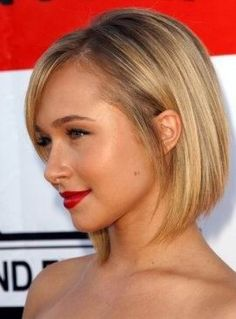 side view inverted bob