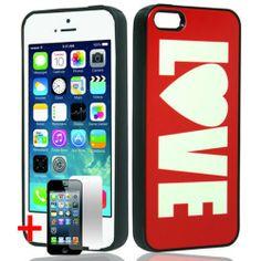 APPLE IPHONE 5 5S BLACK TPU RUBBER BORDER WHITE RED LOVE HEART HYBRID COVER HARD PROTECTOR CASE  http://www.amazon.com/dp/B00HDYPDQC/ref=cm_sw_r_pi_dp_LJhWsb0XNJWE37JM