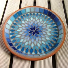 Gypsy Sky Mosaic Garden Yard Water Bird Bath Decor