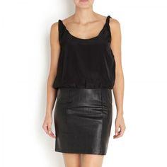 Gestuz - Luxe leather dress