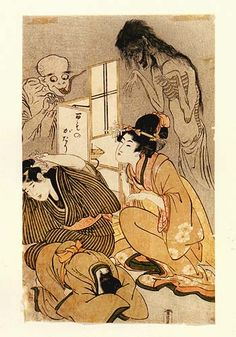 One Hundred Stories of Demons and Spirits, by Kitagawa Utamaro