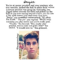 Do you have what it takes to date Nash Grier? Nash Grier Imagines, Magcon Imagines, Cameron Dallas Imagines, Tom Holand, Relationship Goals Text, Soccer Practice, Hayes Grier, Magcon Boys, What It Takes