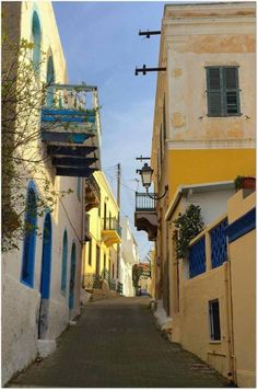 The Other Greek Islands – Introducing Leros. Oh The Places You'll Go, Great Places, Places To Travel, Places To Visit, Beautiful Buildings, Beautiful Places, Back Road, Greece Travel, Beautiful Islands