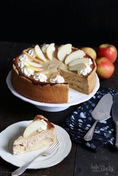 Bratapfel Käsekuchen | Bake to the roots