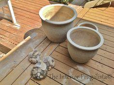 How To Turn Plant Pots Into A Water Fountain - Piletas de agua