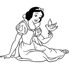 Snow White Disney Coloring Pages Free Online Printable Sheets For Kids Get The Latest Images