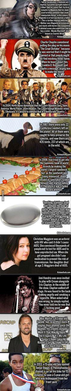 Random Interesting Facts