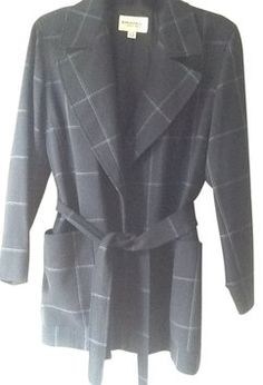 Emanuel Ungaro Charcoal Gray Jacket