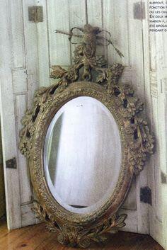 want want vintage miroir...