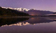 Lake Mapourika, Glacier Country NZ by west coast photographer Rina Sjardin-Thompson