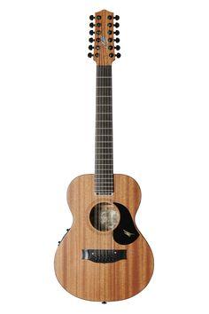 Australian, Handmade, Acoustic EMM 12 from Maton Guitars. Front View.