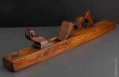 Dated 1674! Fancy Dutch Jointer Plane - EXCALIBUR 12 Buy Tools, Woodworking Planes, Antique Tools, Dutch, Dating, Fancy, The Originals, Antiques, Quotes