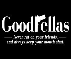 The Goodfellas Logo shirt is the ideal gift for fans of the Martin Scorsese mob movie. Wear this Goodfellas movie t-shirt to express your loyalty to the film. Frases Gangster, Gangster Quotes, Gangster Movies, Badass Quotes, Gangster Party, Gangster Tattoos, Great Quotes, Quotes To Live By, Inspirational Quotes