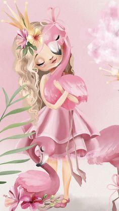 Baby Boy Cupcakes, Baby Clip Art, Cute Girl Wallpaper, Cute Cartoon Wallpapers, Illustration Girl, Art Lesson Plans, Baby Prints, Pretty Art, Art Lessons
