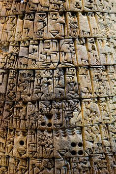 Cuneiform, 3000 BCE    Cuneiform writing from 3000 BC  (Louve)