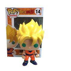 New hot sale Q version FUNKO Pop new Dragon Ball Z Super Saint Seiya Goku Son Gokou Boxed PVC Collection 10CM Free Shipping