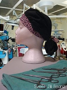 How to make a scrub Cap.. Will be trying to make.. now that i need them!!!