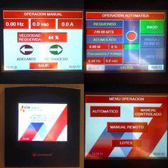 En nuestros #cursos de #ProgramaciónDePLCs puedes diseñar #pantallas como éstas en un santiamén! Solicita más información al email: ventas @ intrave.com