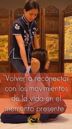 Reconectar con los movimientos de la vida en el momento presente  http://www.masajes-xiaoying-madrid.com/