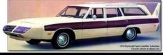 """1970 Plymouth Satellite """"Wagon"""" with 'Bird Front and 'Bird Wing, INTERESTING """"Twist""""!"""