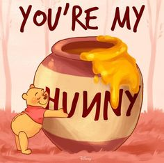 Disney's Winnie the Pooh:) Cute Winnie The Pooh, Winnie The Pooh Quotes, Winnie The Pooh Pictures, Eeyore Quotes, Christopher Robin, Disney Quotes, Disney Posters, Disney Wallpaper, Wallpaper Art