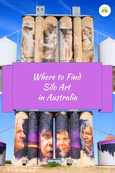 If you are planning on travelling anywhere in Australia you will certainly want to know where to find Silo Art. There are so many sites, including murals. Working Holiday Visa, Working Holidays, Female Farmer, Marine Reserves, Fraser Island, Local Photographers, Australian Art, Great Barrier Reef, Street Artists