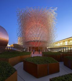 UK Pavilion – Milan Expo 2015 / Wolfgang Buttress