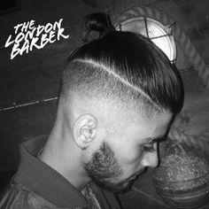 Zayn Malik + topknot