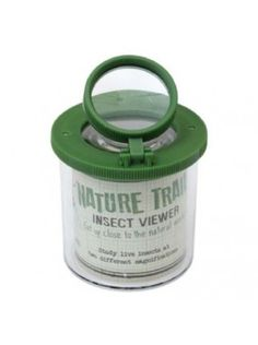 Nature trail insect loupe viewer, get up close to the natural world. Study live insects at two different magnifications. Contains a plastic spider to get you started.