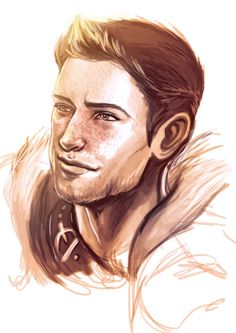 umadbuddy said: Alistair~ :D Answer: freckly!alibear for my own guilty pleasure (sorry for the lameness but sketches are all I can manage now) Dragon Age Alistair, Dragon Age Characters, Grey Warden, Dragon Age Games, Dragon Age Origins, Geek Girls, Light And Shadow, Creative Art, Cool Art
