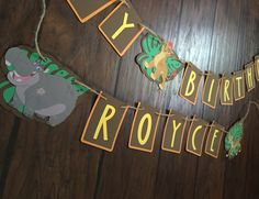 Lion guard themed birthday banner by CreationsByChrissyCo on Etsy https://www.etsy.com/listing/400785329/lion-guard-themed-birthday-banner