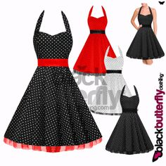 50s dress.... want one....