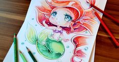 Artist draws the cutest Disney princesses and League of Legends characters in her style