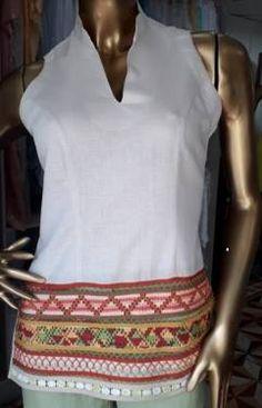 Crochet, Ideas, Tops, Fashion, Dapper Clothing, Block Prints, Women's, Shirt Blouses, Lace Tops