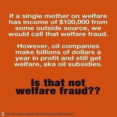 The REAL Welfare Fraud!