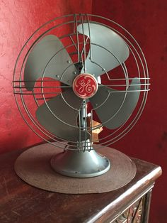 """Pristine GE Vortalex 3-Speed 12"""" Oscillating Fan Complete With Original Tags and Inspection Tag New Old Stock NOS by SeriouslyVintageAZ on Etsy"""