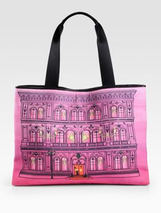 Love this: Building Print Canvas Tote @Lyst