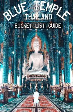 thailand travel tip Guide: Blue Temple Chiang Rai, - traveltip Bangkok Thailand, Thailand Vacation, Thailand Travel Guide, Visit Thailand, Asia Travel, Temple Thailand, Chang Mai Thailand, Thailand Honeymoon, Krabi Thailand