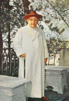 Pope John XXIII------Now saint, canonized on April, 27, 2014, Divine Mercy Sunday.
