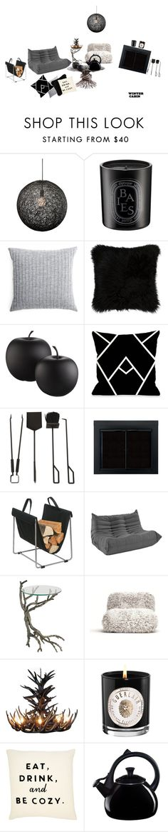 """""""Untitled #102"""" by mem1 ❤ liked on Polyvore featuring interior, interiors, interior design, home, home decor, interior decorating, Nuevo, Diptyque, Elvang and Natural by Lifestyle Group"""