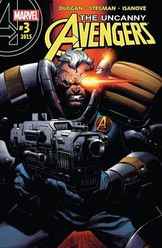 Uncanny Avengers (2015) #3 #Marvel #UncannyAvengers (Cover Artist: Ryan Stegman) Release Date: 12/9/2015