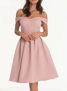 **Chi Chi London bardot midi dress - Dorothy Perkins
