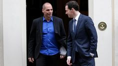 George Osborne: A stand-off between Greece and the euro zone over Greek debt was fast becoming the biggest risk to the global economy