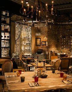 Bar, restaurant, etc. Restaurant Lighting, Restaurant Design, Restaurant Bar, Coffee Shop Design, Cafe Design, Cozy Bar, Nightclub Design, Bar A Vin, Restaurants