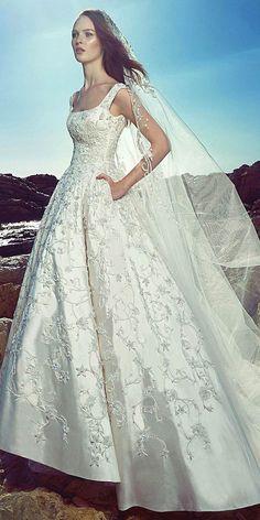 Amazing Zuhair Murad 2017 Bridal Collection ❤ See more: http://www.weddingforward.com/zuhair-murad-bridal-collection/ #wedding #dresses