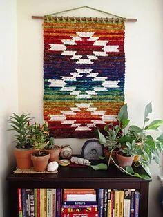 Ravelry: Mountain and Mesa wall hanging pattern by Susan E. Kennedy Crochet Motifs, Crochet Art, Tapestry Crochet, Crochet Patterns, Crochet Ideas, Crochet Designs, Quilt Patterns, Crochet Wall Hangings, Crochet Home Decor