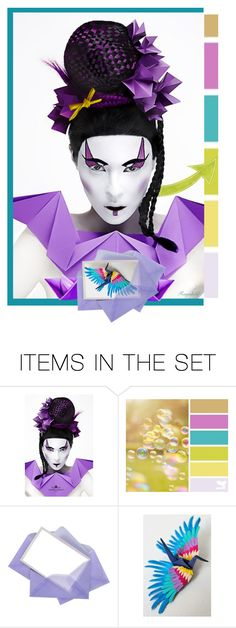 """""""Happy Weekend with Origami ART Sets💓😊🏆"""" by ragnh-mjos ❤ liked on Polyvore featuring art, Color and origami"""